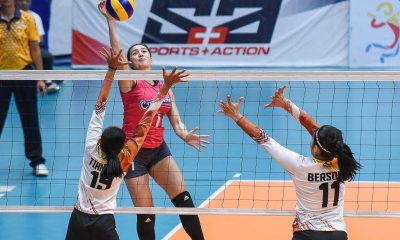 Tiebreaker Times Creamline stretches unbeaten streak to four as Gumabao holds off BanKo News PVL Volleyball  Tai Bundit Perlas Lady Spikers Michele Gumabao Apichat Kongsaiwat Alyssa Valdez 2019 PVL Season 2019 PVL Open Conference