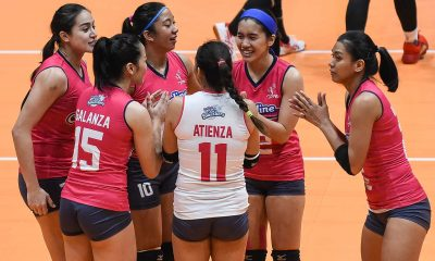Tiebreaker Times After long wait, Creamline made sure to finish BanKo as swift as possible News PVL Volleyball  Creamline Cool Smashers Alyssa Valdez 2019 PVL Season 2019 PVL Open Conference