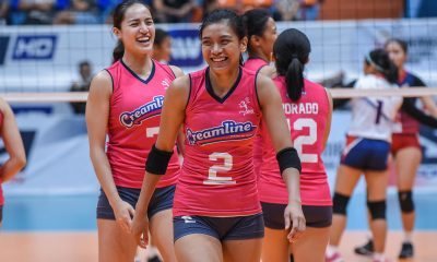 Tiebreaker Times Alyssa Valdez to miss PWNVT Thailand training due to injury News PVL Volleyball  Philippine Women's National Volleyball Team Creamline Cool Smashers Alyssa Valdez 2019 PVL Season 2019 PVL Open Conference