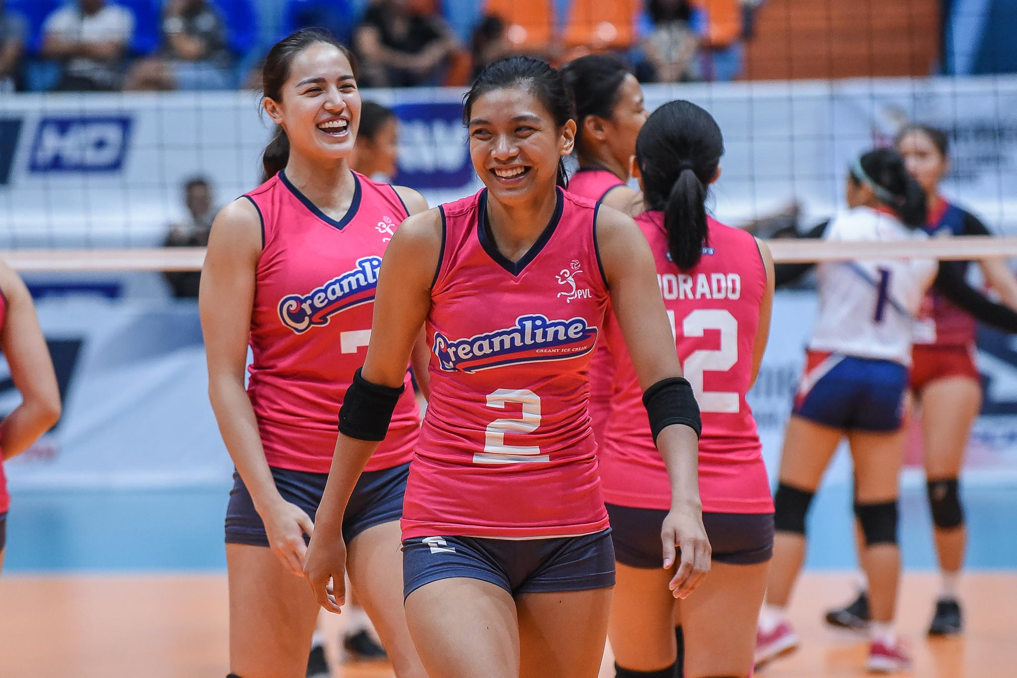 Tiebreaker Times Alyssa Valdez had an 'unusual day' as she has more serve attempts than attacks News PVL Volleyball  Creamline Cool Smashers Alyssa Valdez 2019 PVL Season 2019 PVL Open Conference