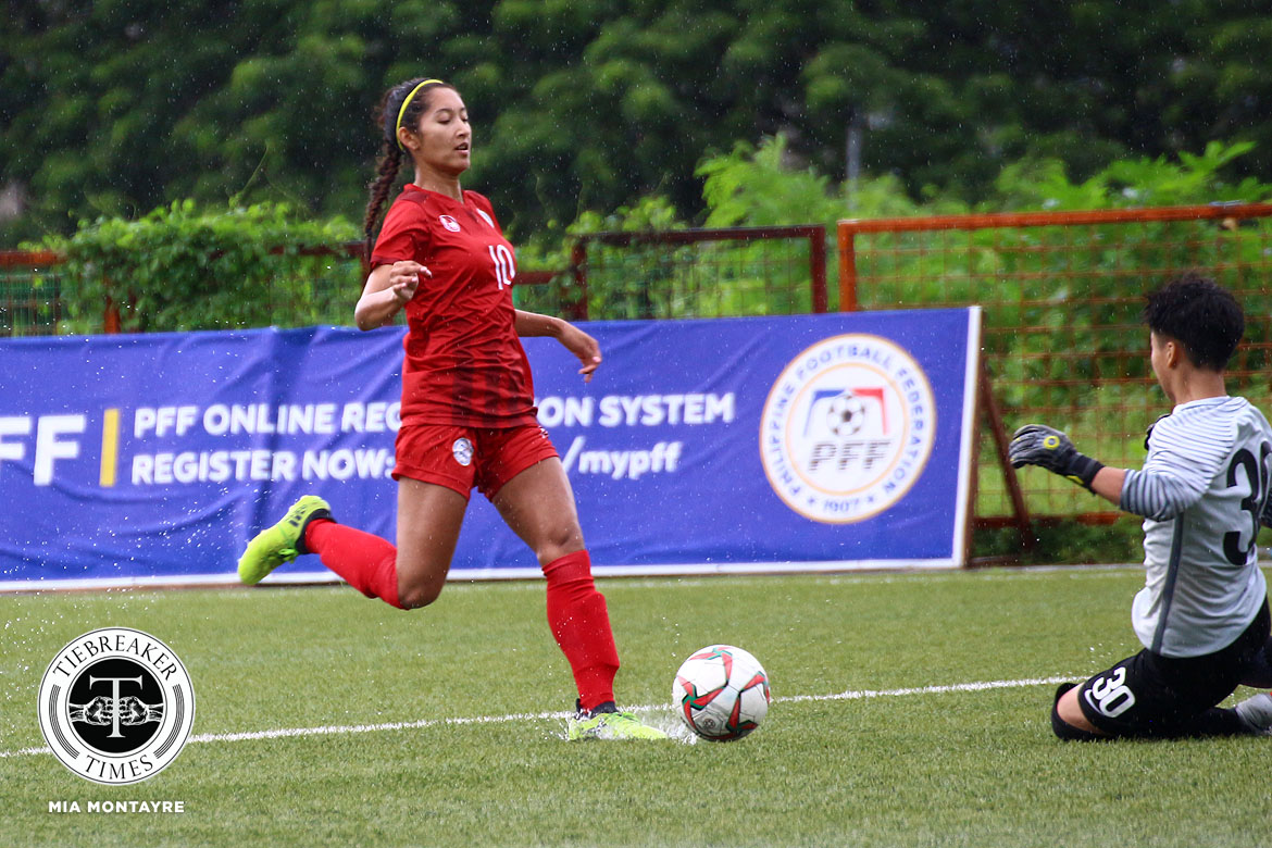 Womens-Football-Friendly-Philippines-def-Macau-Quezada PWNFT standouts look back on tragic SEA Games finale Football News Philippine Malditas  - philippine sports news