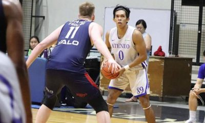 Tiebreaker Times Ateneo Blue Eagles score win over Adelaide 36ers in tune-up ADMU Basketball News  Tab Baldwin SJ Belangel Matthew Daves Matt Nieto Joey Wright Harry Frolling Harry Froling Gian Mamuyac Eric Griffin Brendan Teys Ateneo Men's Basketball Anthony Drmic Angelo Kouame Adelaide 36ers