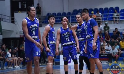 Tiebreaker Times Cabahug lifts Cebu to big home win as Teng, Pasig set record for most MPBL triples Basketball MPBL News  Raffy Octobre Patrick Cabahug Pasig-Sta. Lucia Realtors Paranaque Patriots Nic Belasco Muntinlupa Cagers Jeric Teng Jemal Vizcarra JBoy Solis Edrian Lao Cebu Sharks Biboy Enguio Argel Mendoza 2019-20 MPBL Lakan Cup