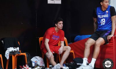 Tiebreaker Times Matthew Wright remains day-to-day as he injures right ankle 2019 FIBA World Cup Qualifiers Basketball Gilas Pilipinas News  Matthew Wright Gilas Pilipinas Men 2019 FIBA World Cup