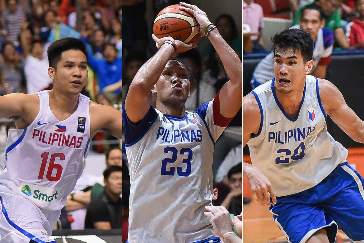 Tiebreaker Times Guiao gives two-day deadline for Fajardo, Rosario, Pogoy 2019 FIBA World Cup Qualifiers Basketball Gilas Pilipinas News  Yeng Guiao Troy Rosario Roger Pogoy June Mar Fajardo Gilas Pilipinas Men 2019 FIBA World Cup