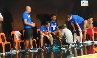 Tiebreaker Times Erram sprains right ankle in Gilas practice 2019 FIBA World Cup Qualifiers Basketball Gilas Pilipinas News  JP Erram Gilas Pilipinas Men 2019 FIBA World Cup