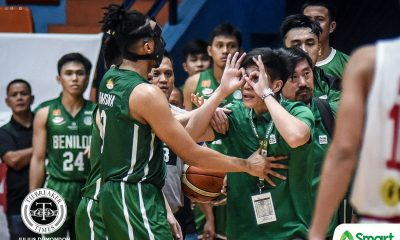 Tiebreaker Times TY Tang rues two quick techs: 'Siguro, natipuhan lang ako' Basketball CSB NCAA News  TY Tang NCAA Season 95 Seniors Basketball NCAA Season 95 Benilde Seniors Basketball