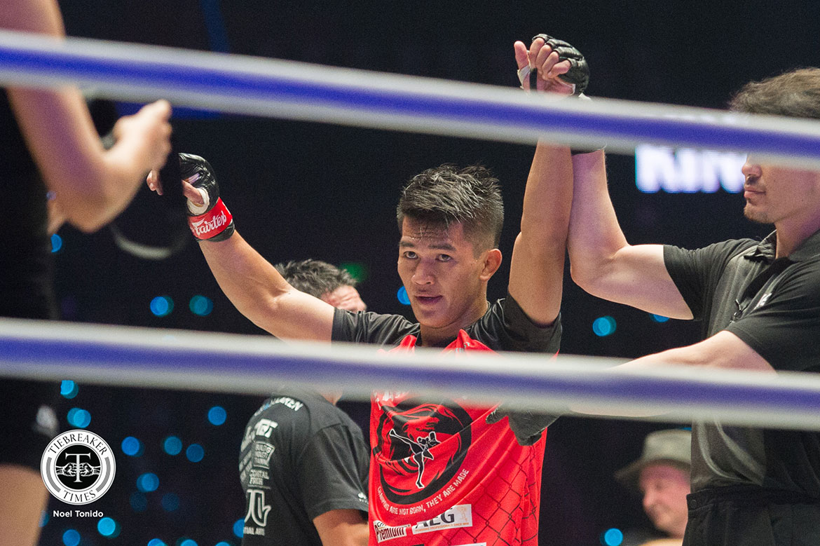 Tiebreaker Times Danny Kingad exudes confidence in Manila return Mixed Martial Arts News ONE Championship  Team Lakay ONE: Fire and Fury Danny Kingad