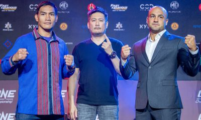 Tiebreaker Times Eddie Alvarez says experience over Folayang will lead him to victory Mixed Martial Arts News ONE Championship  ONE: Dawn of Heroes Eduard Folayang Eddie Alvarez