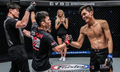 Tiebreaker Times Fil-Indonesian Aziz Calim picks up valuable lesson in recent loss Mixed Martial Arts News ONE Championship  one: dreams of gold Aziz Calim