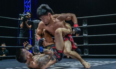 Tiebreaker Times Lito Adiwang knows he has a lot to improve on entering ONE main roster Mixed Martial Arts News ONE Championship  Team Lakay ONE Warrior Series Lito Adiwang