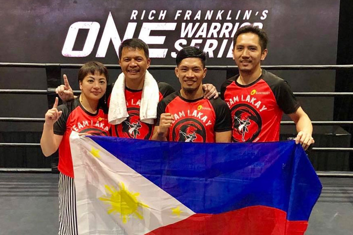 Tiebreaker Times Lito Adiwang wins ONE Championship contract Mixed Martial Arts News ONE Championship  Team Lakay ONE Warrior Series Lito Adiwang