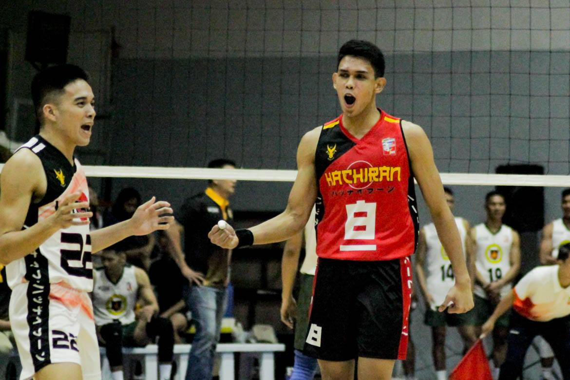 Tiebreaker Times Espejo, Marasigan lead Cignal to 2-0 as Ateneo scintillates in debut ADMU FEU LPU News Spikers' Turf Volleyball  Ysay Marasigan Timmy Sto. Tomas Ron Medalla Philippine Army Troopers Martin Bugaoan Marck Espejo Mac Millete Lyceum Men's Volleyball Kevin Liberato Juvic Colonia JP Bugaoan IEM Volley Masters FEU Men's Volleyball Egie Magadia Eddsel Borres Dexter Clamor Cignal HD Spikers Chumason Njigha Ateneo Men's Volleyball 2019 Spikers Turf Season 2019 Spikers Turf Open Conference