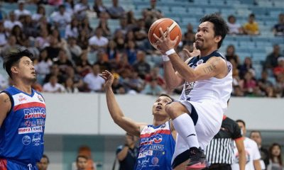 Tiebreaker Times Manny Pacquiao puts on show, but Dubai All-Stars prevail Basketball MPBL News  Mark Yee Manny Pacquiao Davao Occidental Tigers Chris Elopre Chris De Jesus Billy Robles Batangas City-Tanduay Athletics Arnold Booker 2019-20 MPBL Lakan Cup