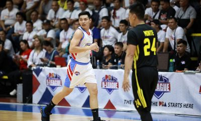 Tiebreaker Times Byron Villarias torches TIP, leads Marinerong Pilipino to first-ever D-League finals berth Basketball News PBA D-League  Yong Garcia William McAloney TIP Engineers Potit De Vera Papa N'diaye Marinerong Pilipino Jhonard Clarito GC Carurucan Christian Daguro Byron Villarias 2019 PBA D-League Foundation Cup