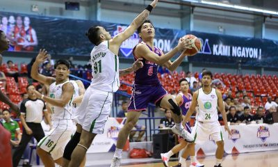 Tiebreaker Times UB Brahmans make triumphant return as CEU sends message to rest of league Basketball News UCBL  University of Batangas Brahmans Sandee Diez Raoul Yemeli Philippine Christian University-Dasmarinas Dolphins Olivarez College Sea Lions Lucian Mulamba JJ Caspe Franz Diaz Eric Tuadles CEU Scorpions Angel Escalona 2019 UCBL Season