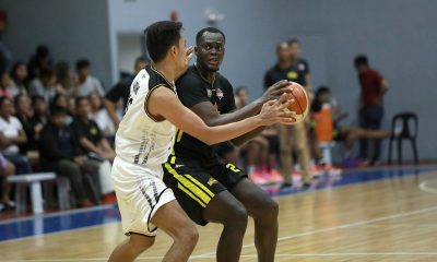 Tiebreaker Times Papa N'Diaye shows way as TIP boots out Black Mamba Basketball News PBA D-League  TIP Engineers Rey De Mesa Papa N'diaye Dahrell Caranguian Black Mamba Billy Ray Robles 2019 PBA D-League Second Conference