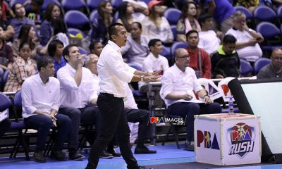 Tiebreaker Times Chito Victolero laments Magnolia mindset in opener: 'We celebrated too early' Basketball News PBA  PBA Season 44 magnolia hotshtos Chito Victolero 2019 PBA Governors Cup