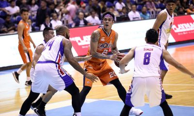 Tiebreaker Times Raymond Almazan looks to make up for dismal start to Meralco career Basketball News PBA  Raymond Almazan PBA Season 44 Norman Black Meralco Bolts 2019 PBA Governors Cup