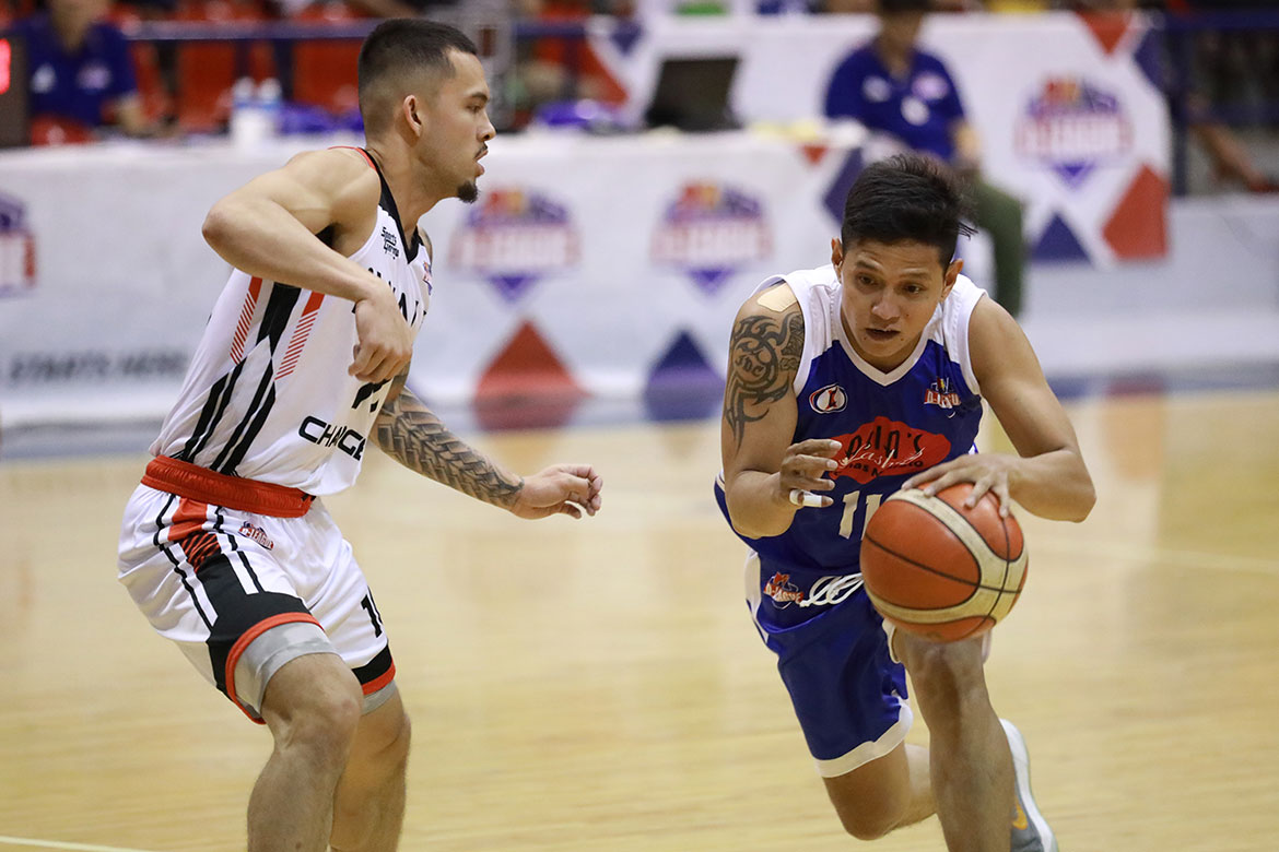 Tiebreaker Times Castro lifts Asia's Lashes to D-League quarters Basketball News PBA D-League  Jonas Villanueva Jeson Delfinado Jaypee Belencion James Castro iWalk Chargers Bernie Bregondo Axel Inigo Asia's Lashes Tomas Morato Soldiers Alvin Grey 2019 PBA D-League Second Conference