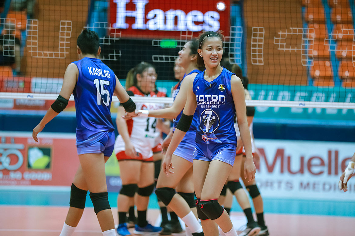 Tiebreaker Times EJ Laure embraces responsibility given by Foton News PSL Volleyball  Foton Tornadoes EJ Laure Aaron Velez 2019 PSL Season 2019 PSL Invitational Cup