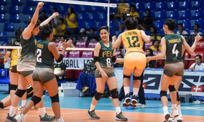 Tiebreaker Times Ronquillo, FEU Lady Tamaraws hold off Lyceum to end PVL campaign FEU LPU News PVL Volleyball  Shiela Kiseo Lyceum Women's Volleyball Joan Doguna George Pascua Gel Cayuna France Ronquillo FEU Women's Volleyball Emil Lontoc alex rafael 2019 PVL Season 2019 PVL Collegiate Conference