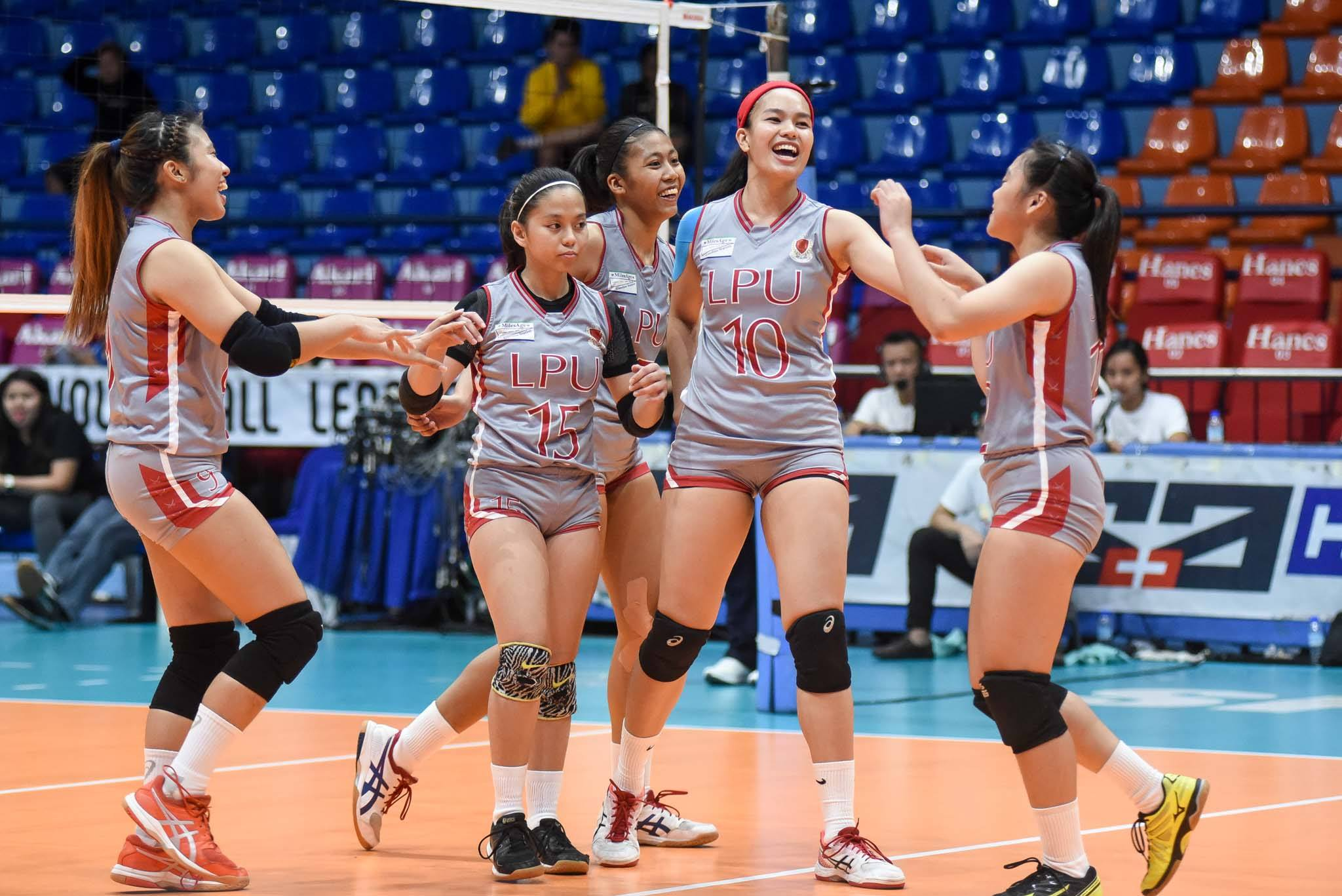 Tiebreaker Times Doguna, Rafael lead Lyceum whipping of TIP for first win LPU News PVL Volleyball  Wielyn Margallo TIP Lady Engineers Lyceum Women's Volleyball Joan Daguna Emil Lontoc Boy Paril Alexandra Rafael 2019 PVL Season 2019 PVL Collegiate Conference
