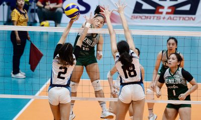 Tiebreaker Times Abriam, Pascual connive as St. Benilde thwarts Adamson fightback to take Game One AdU CSB News PVL Volleyball  Trisha Genesis Saint Benilde Women's Volleyball Mycah Go Louie Romero Lorene Toring Lerma Giron Klarisa Abriam Jerry Yee Gayle Pascual Ceasa Pinar Adamson Women's Volleyball 2019 PVL Season 2019 PVL Collegiate Conference