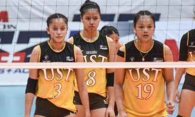 Tiebreaker Times Collegiate PC POW Eya Laure starting to regain form ahead of NT stint News PVL UST Volleyball  UST Women's Volleyball PVL Player of the Week Eya Laure 2019 PVL Season 2019 PVL Collegiate Conference