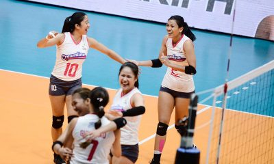 Tiebreaker Times Valdez, Morado remain questionable for ASEAN GP second leg News PVL Volleyball  Michele Gumabao Jia Morado Creamline Cool Smashers Alyssa Valdez 2019 PVL Season 2019 PVL Open Conference