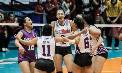 Tiebreaker Times Choco Mucho welcomes return of Madayag, stamps class on Bali Pure News PVL Volleyball  Shannen Palec Rommel Abella Oliver Almadro Menchie Tubiera Maddie Madayag maddi madayag Kat Tolentino Choco Mucho Flying Titans Bea De Leon Bang Pineda Bali Pure Purest Water Defenders ac masangkay 2019 PVL Season 2019 PVL Open Conference