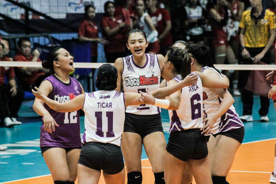 Tiebreaker Times Madayag says hole left by Santiago will be hard to fill alone 2019 SEA Games News PVL Volleyball  Philippine Women's National Volleyball Team Maddie Madayag Jaja Santiago Choco Mucho Flying Titans 2019 SEA Games - Volleyball 2019 PVL Season 2019 PVL Open Conference