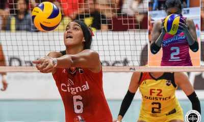 Tiebreaker Times Valdez says playing with a 'tall' setter in Robins-Hardy a new experience News Uncategorized Volleyball  Alyssa Valdez Alohi Robins-Hardy 2019 SEA Grand Prix