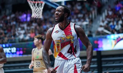 Tiebreaker Times Wells impresses anew as San Miguel dethrones Ryukyu in Terrific 12 Asia League Basketball News PBA  Terrence Romeo San Miguel Beermen Ryukyu Golden Kings Ryuichi Kishimoto Lester Prosper Leo Austria Dez Wells Demon Brooks 2019 The Terrific 12