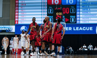 Tiebreaker Times San Miguel Beermen falter against Zhejiang to finish fourth in Terrific 12 Asia League Basketball News PBA  Zhejiang Guangsha San Miguel Beermen Lester Prosper Leo Austria Kelly Nabong Dez Wells Alex Cabagnot 2019 The Terrific 12