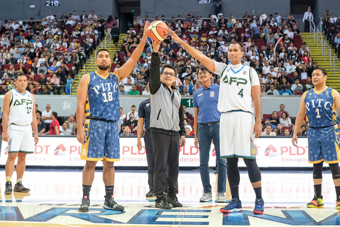 Tiebreaker Times Eugene Tan steers AFP Cavaliers rout of PITC to open UNTV Cup campaign Basketball News UNTV Cup  Willy Casulla PITC Global Traders Jerry Lumongsod Eugene Tan Dave Cordero AFC Cavaliers 2019 UNTV Cup