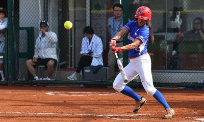 Tiebreaker Times Antolihao pitches eight innings, lifts RP Blu Girls to WBSC OQT Super Round News Softball  Sierra Lange RP Blu Girls Randy Dizer New Zealand (Softball) Chelsea Suitos Ann Antolihao 2019 WBSC Asia/Oceania Olympic Qualifier