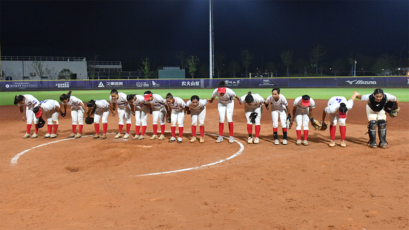 Tiebreaker Times Blu Girls pound South Korea to open WBSC OQT campaign News Softball  South Korea (Softball) Sierra Lange RP Blu Girls Reese Guevarra Randy Dizer Lauren Young Garie Blando Cheska Altomonte Chelsea Suitos 2019 WBSC Asia/Oceania Olympic Qualifier