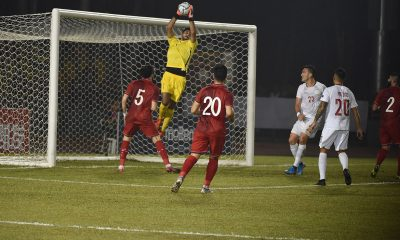 Tiebreaker Times Philippine Azkals suffer Syria rout in dismal start to WCQ campaign Football News Philippine Azkals  Syria (Football) Scott Cooper Omar Al Soma Mohammad Alkatib Mike Ott Michael Falkesgaard Martin Steuble Mahmoud Almawas Khaled Almbayer Javier Patino Ibrahim Alma 2022 World Cup Qualifiers