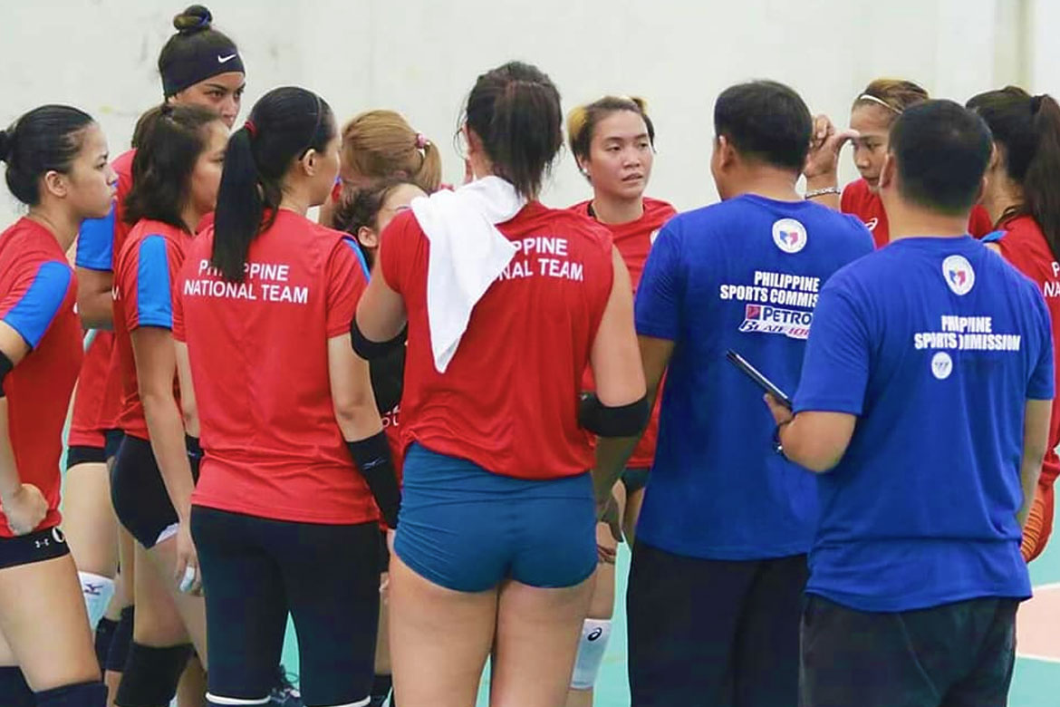 Tiebreaker Times PWNVT set to participate in two pocket tourneys after ASEAN GP News PSL Volleyball  Philippine Women's National Volleyball Team Ariel Paredes 2019 Southeast Asian Grand Prix 2019 PSL Super Cup 2019 PSL Season