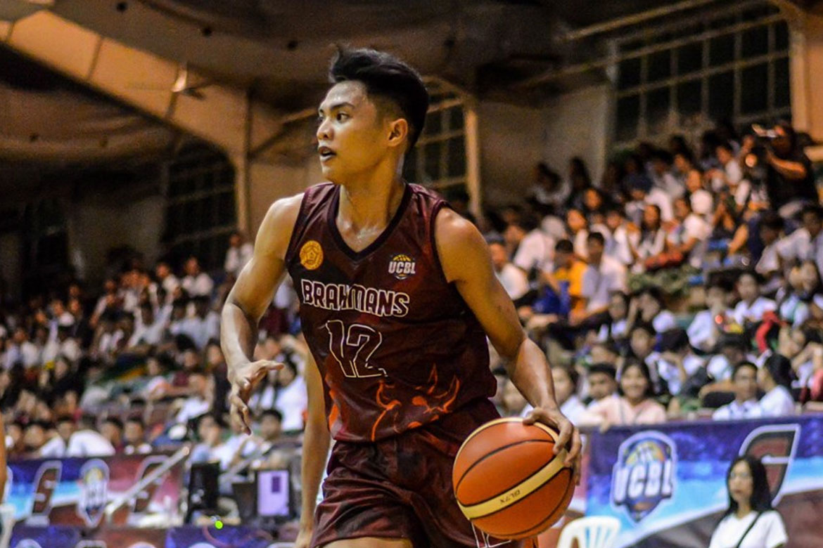 Tiebreaker Times JJ Caspe, Don Tabol pound 6-man CEU, lifts UB to school-best start in UCBL Basketball News UCBL  University of Batangas Brahmans UCBL Season 4 TIP Engineers Lyceum of the Philippines University-Batangas Pirates JJ Caspe Don Tabol CEU Scorpions Aliane Lapasaran