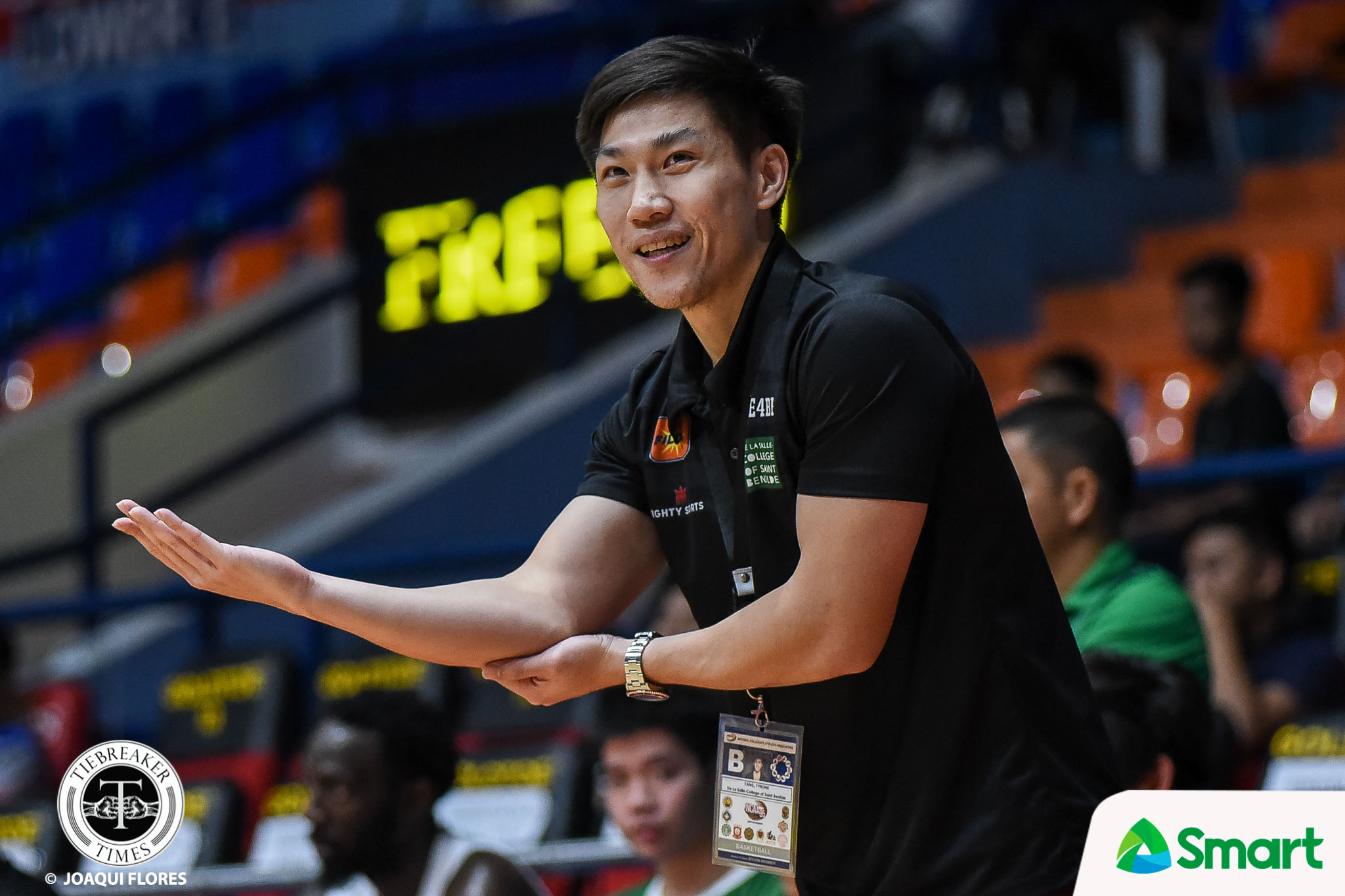 NCAA-95-CSJL-vs.-CSB-Ty-Tang-0600 St. Benilde coach Tang on FSAs: 'They got everybody on a higher level' Basketball CSB NCAA News  - philippine sports news