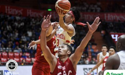 Tiebreaker Times San Beda extends mastery over EAC to 22 games Basketball EAC NCAA News SBC  San Beda Seniors Basketball Oliver Bunyi NCAA Season 95 Seniors Basketball NCAA Season 95 Marwin Taywan JP Maguliano Evan Nelle EAC Seniors Basketball Donald Tankoua Clint Doliguez Calvin Oftana Boyet Fernandez AC Soberano