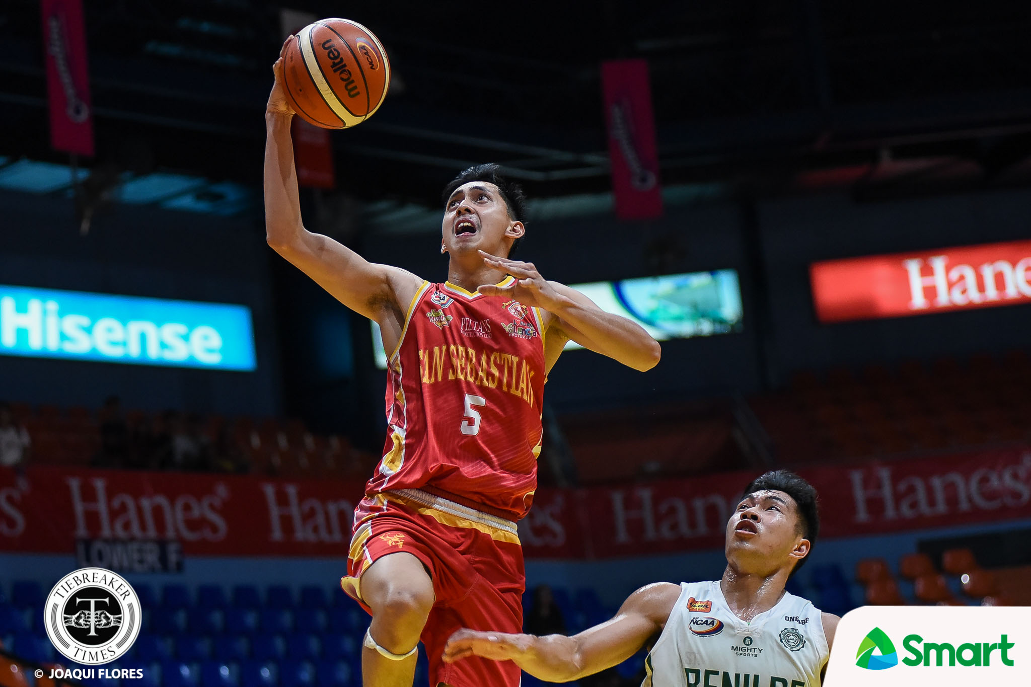 Tiebreaker Times Allyn Bulanadi remains focused on championship amid heated MVP race Basketball NCAA News SSC-R  San Sebastian Seniors Basketball NCAA Season 95 Seniors Basketball NCAA Season 95 Egay Macaraya Allyn Bulanadi