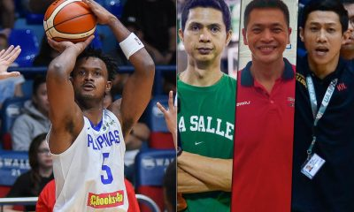 Tiebreaker Times Abu Tratter relishes working with some of country's finest big men Basketball News PBA  Rommel Adducul PBA Season 44 Jun Limpot Danny Ildefonso Alaska Aces Abu Tratter 2019 PBA Governors Cup