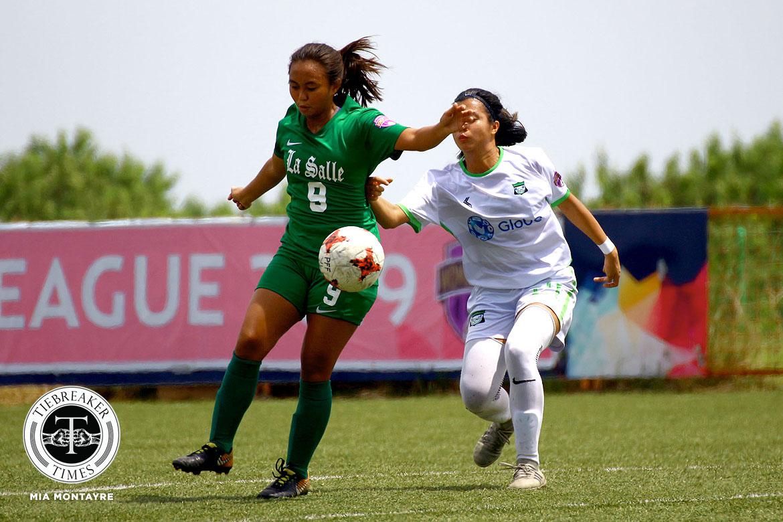 PFFWL-2019-M2-DLSU-def-GAU-FC-Maligalig La Salle scores 6-goal rout of GAU, returns to top of PFFWL table DLSU FEU Football News PFF Women's League UP  - philippine sports news