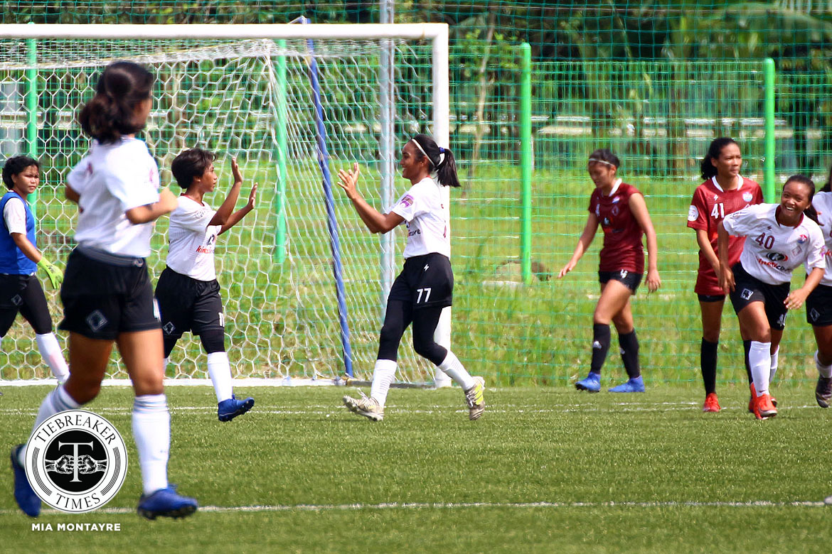 PFFWL-2019-M3-UP-def-Maroons-FC-Yalong-Muring-Bacatan La Salle scores 6-goal rout of GAU, returns to top of PFFWL table DLSU FEU Football News PFF Women's League UP  - philippine sports news