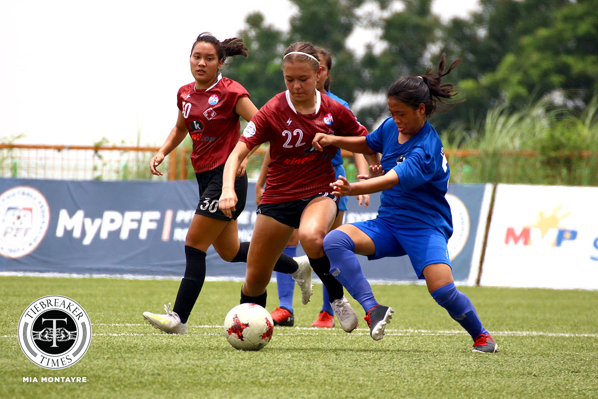 PFFWL-2019-Wk-6-M2-Maroons-FC-def-Tuloy-FC-Arthur-Montilla La Salle remains on top of PFFWL table as UST keeps perfect slate DLSU FEU Football News PFF Women's League UST  - philippine sports news
