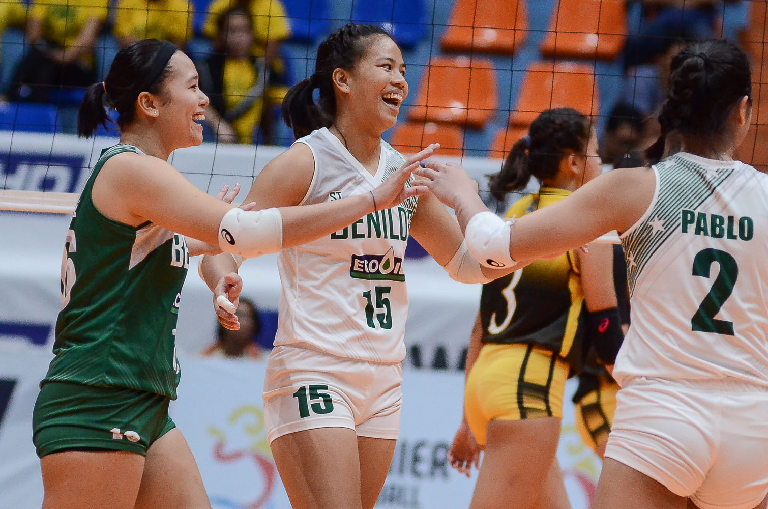 Tiebreaker Times St. Benilde tears apart injury-riddled Arellano for third win AU CSB News PVL Volleyball  Saint Benilde Women's Volleyball Obet Javier Mycah Go Klarisa Abriam Jerry Yee Gayle Pascual Charm Dino Arellano Women's Volleyball 2019 PVL Season 2019 PVL Collegiate Conference