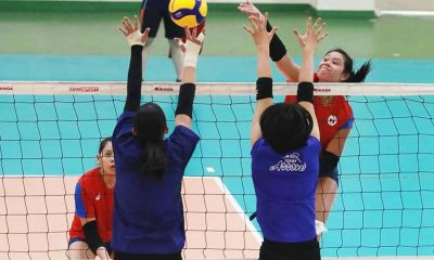Tiebreaker Times PWNVT ends Thailand tune-ups with draw against Toray Arrows News Volleyball  Toray Arrows Shaq delos Santos Roselyn Doria Philippine Women's National Volleyball Team Mylene Paat Majoy Baron Maddie Madayag Kath Arado Kalei Mau Jovelyn Gonzaga Jia Morado Eya Laure Dawn Macandili Ces Molina Alohi Robins-Hardy Aiza Maizo-Pontillas Aby Marano
